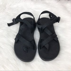 Chaco | Black Strappy Z/2 Sandals Size 10